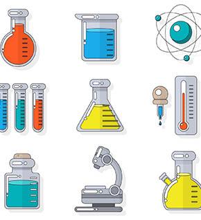 Un mondo al microscopio laboratorio bambini scoperta chimica atomi molecole stati materia Leo Scienza 290x318